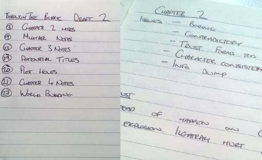 Notebook Edits
