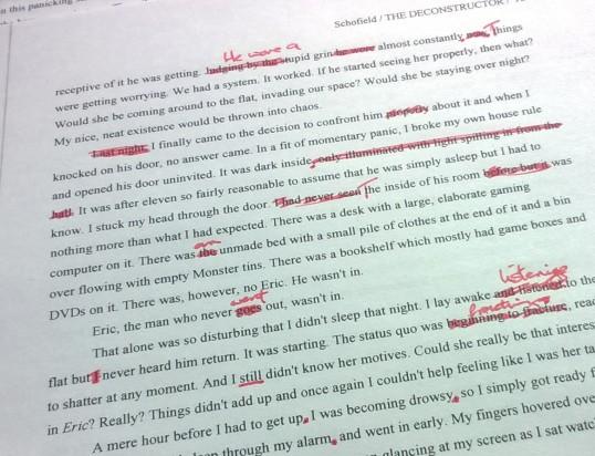 Paper Edits
